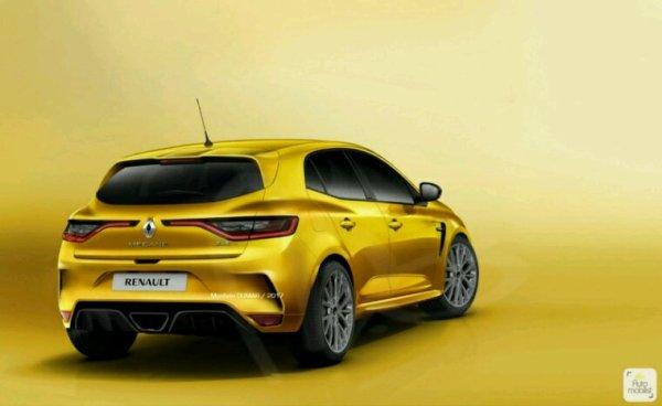 Renault Mégane 4rs