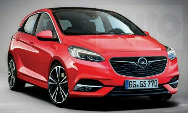 Future Opel corsa