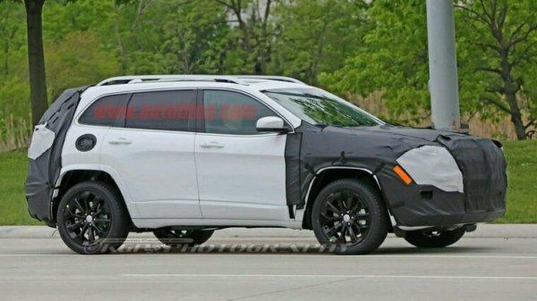 Lifting jeep cherokee