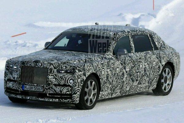 Rolls royce phantom en prototype