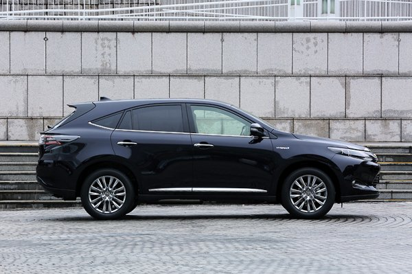 toyota harrier pour la chine