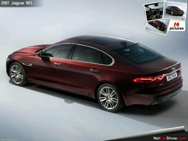 Jaguar xf longue pour la chine