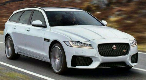 Nouvelle jaguar xf break