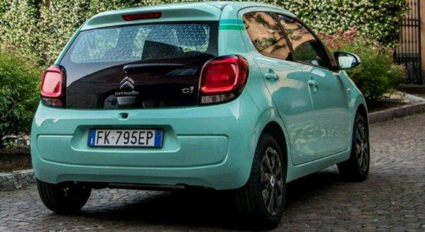 Serie speciale pour l italie de la Citroën c1