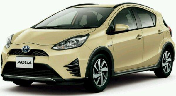 Toyota acqua hybride pour le japon