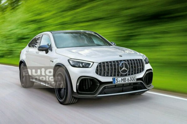 Future Mercedes glc et glc coupe lifting