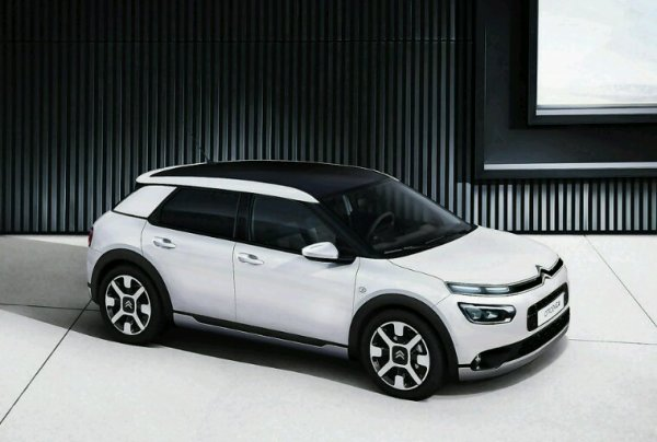 Lifting citroen c4 cactus