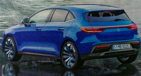 Mercedes eq concept hybride