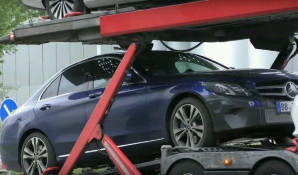 La future Mercedes classe c en hybride