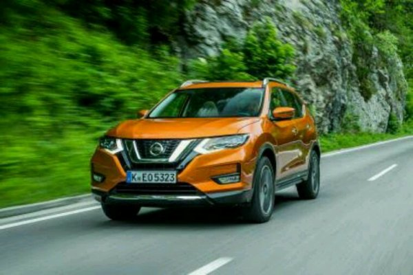 Nissan xtrail lifting 2017