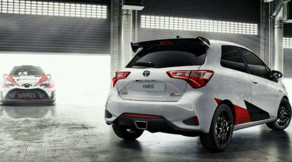 Toyota yaris grmn sport 2017 3p