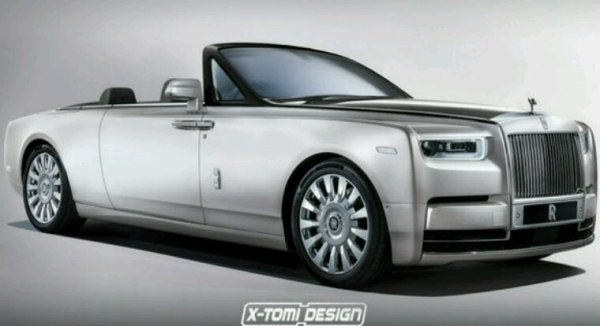 Rolls-Royce phantom cabriolet 2017 lifting
