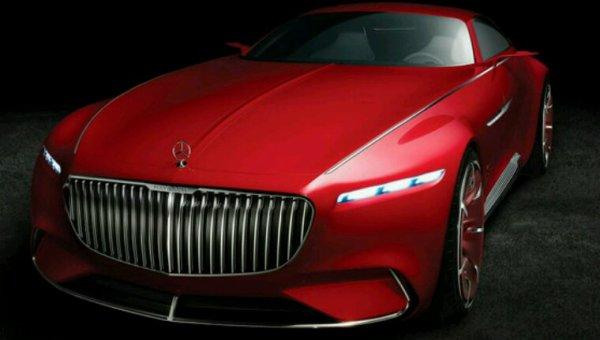 Mercedes maybach cabriolet concept