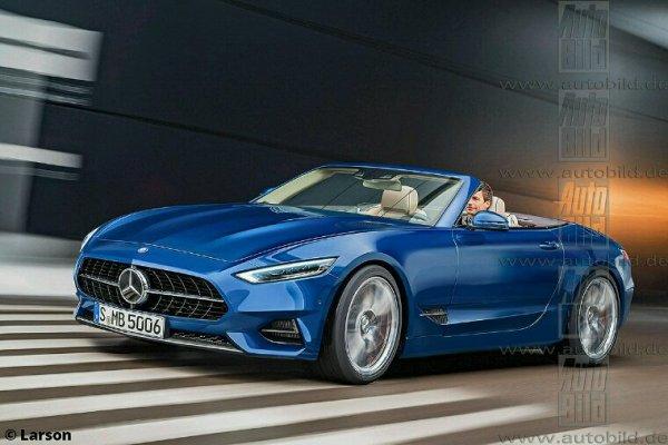 Mercedes sl 4 e génération
