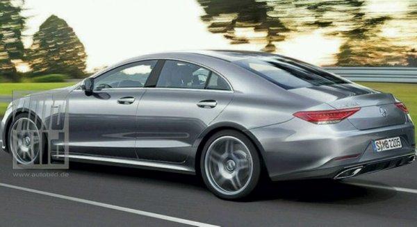 Mercedes cls 3