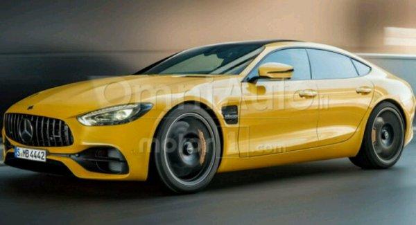 Mercedes gt 4 p