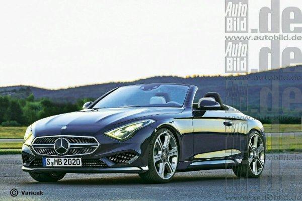 Mercedes classe a roadster en projet