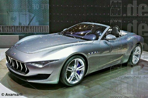 Maserati alfieri cabriolet