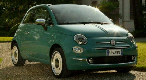 Fiat 500 70e anniversaire serie anniversario
