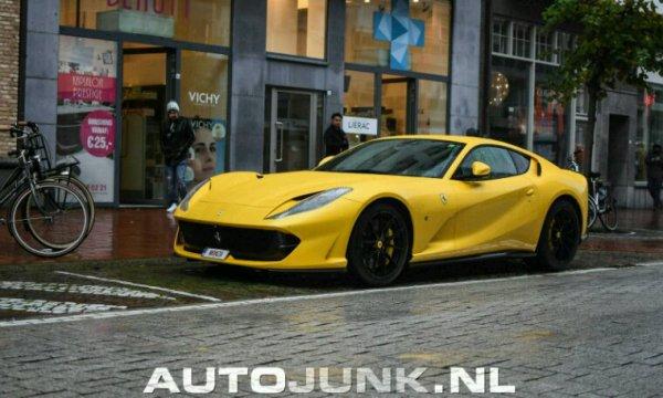 Ferrari 812 super fast en belgique