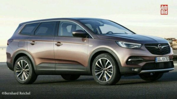 Future suv opel sur base Peugeot 5008