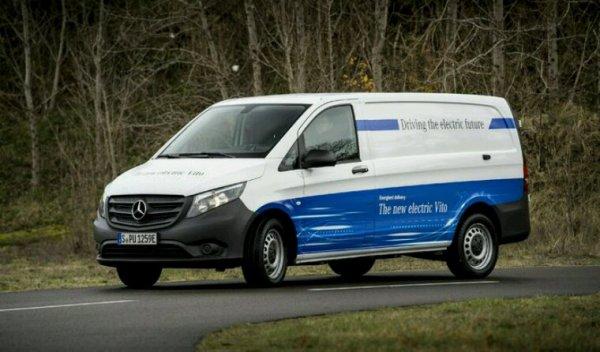 Mercedes e vito le vito hybride