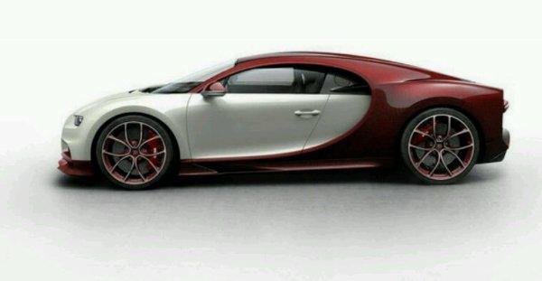 Bugatti chiron modele rare
