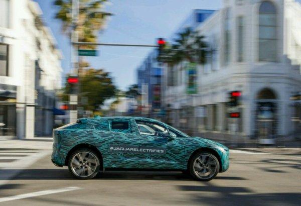 Jaguar i pace en test en californie