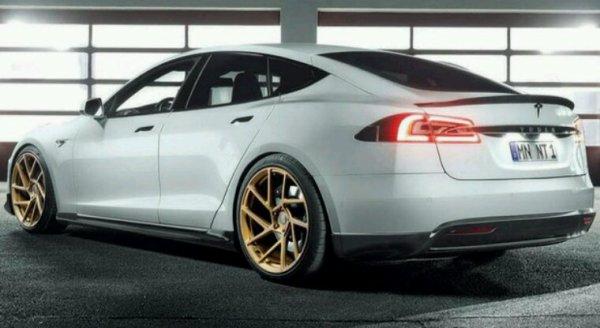 Tesla model s.    Serie speciale