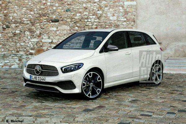 Prototype Mercedes classe b de 2018