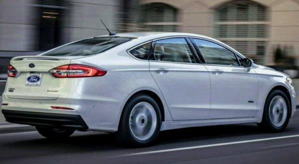 Ford fusion usa 2019