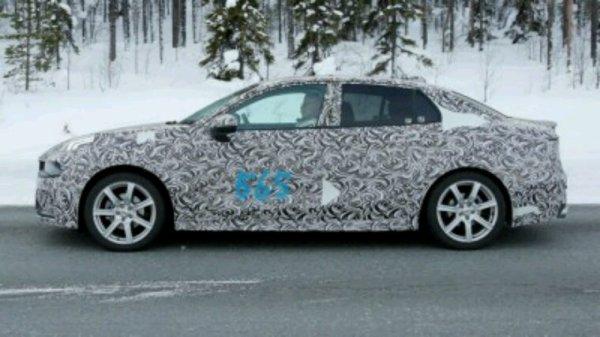 Lynk&co modele 4p en test hivernal en suede