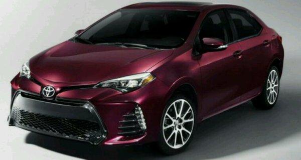 Toyota corolla 4p