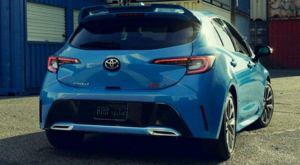 Toyota auris 3 usa