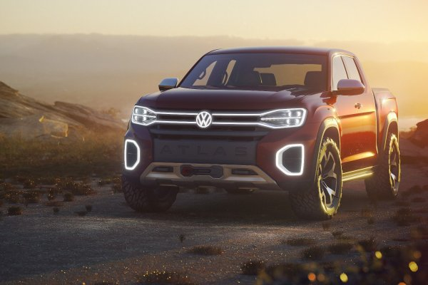 vw tanoak concept pick up