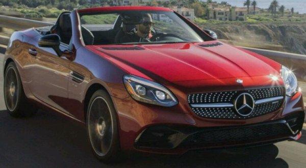 Mercedes slc lifting 2019