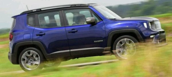 Lifting jeep renegade 2019