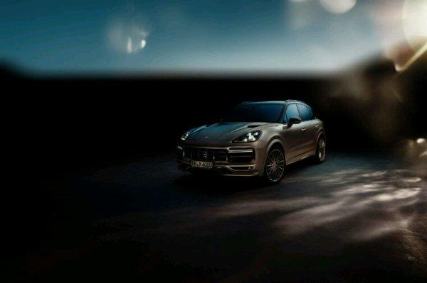 Nouvelle Porsche cayenne observation