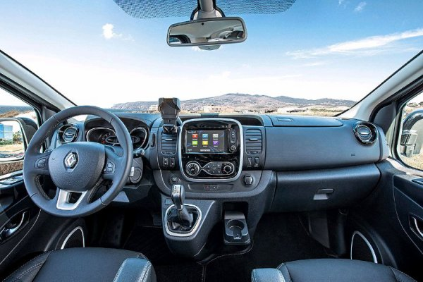 Renault trafic lifting 2019