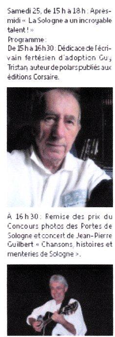 Séance de dédicace à la bibliothèque de La Ferté - samedi 25 juin 2016