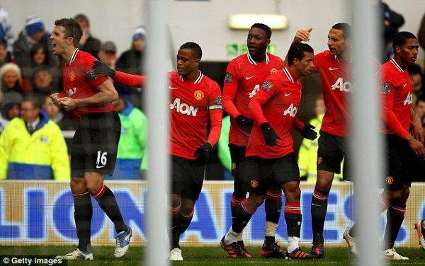 Queens Park Rangers   0  Manchester United   2  Rooney (1), Carrick (56)