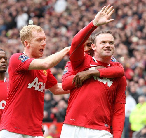 Manchester United 2 QPR 0