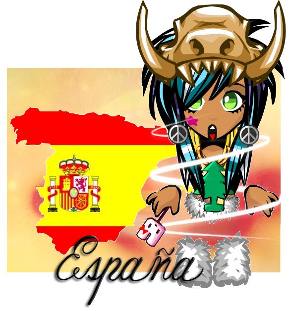D'origine espagnol, et fière !