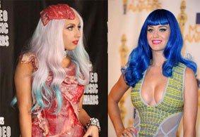 ¡Bombazo musical! Lady Gaga colabora en el nuevo CD de Katy Perry