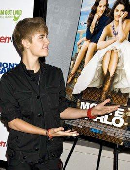 Justin Bieber. Tiene que escoger entre Selena y Usher
