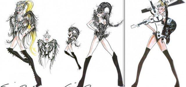 Lady Gaga. Sus looks para la nueva gira