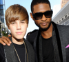 Justin Bieber. Apoya a Usher por el accidente de su hijastro