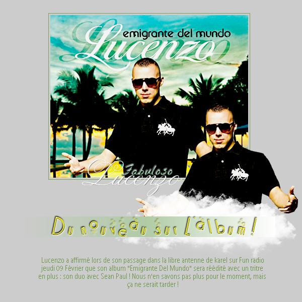 """# Du nouveau sur l'album """"Emigrante del mundo"""" !"""