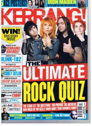Making Of | Updates vidéo | Nurse Jackie | Musical March Madness | Kerrang | Tournée