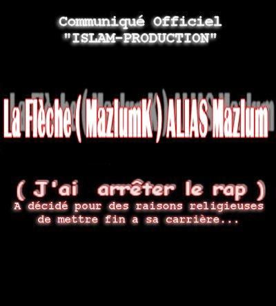 Mazlum Arrete le Rap
